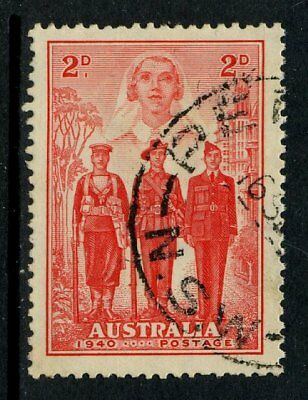 1940 Australian Imperial Forces 2d Red AIF and Nurse FU SG 197 2A1