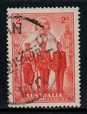 1940 Australian Imperial Forces 2d Red FU SG 197 7C1