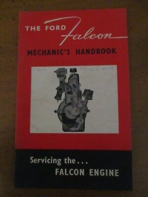 1960 Ford Xk Falcon Ford Factory Training Mechanic's Handbook, Hard To Find