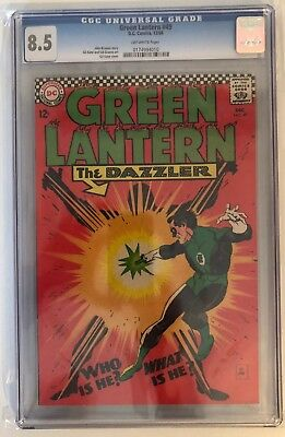 Green Lantern #49 - Cgc 8.5 - Off White Pages