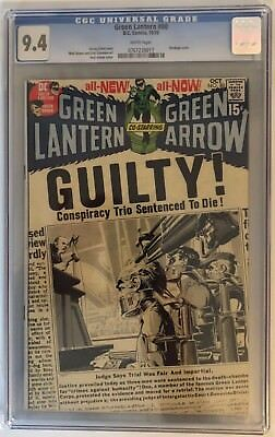 Green Lantern #80 - Cgc 9.4 - White Pages