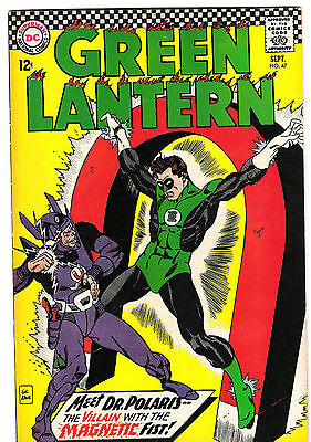Green Lantern #47 - Vfn - Doctor Polaris!