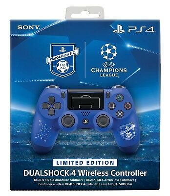 Controller Sony V2 F.c. Blue Limited Wireless Ps4 Dualshock 4 Pad Playstation 4