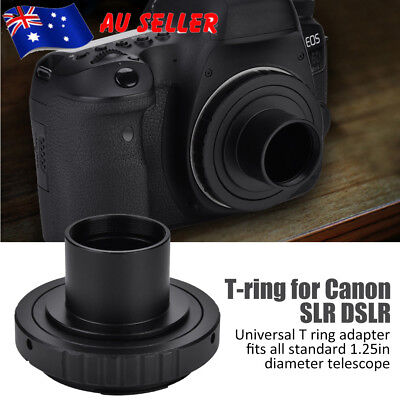 Telescope Camera Adapter 1.25 Inch Extension Tube T Ring for Canon SLR EOS 5d AU