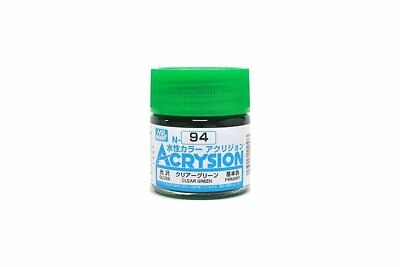 GUNZE Mr Hobby Acrysion Color N94 CLEAR GREEN 10ml