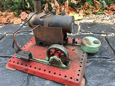 House Clearance Attic Barn Find Rare Vintage Toy Fixed  Mamod Live Steam Engine