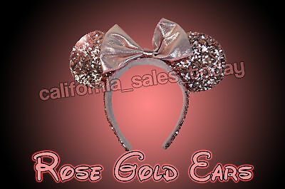 Disney Parks Disneyland ROSE GOLD MINNIE EARS MICKEY - SOLD OUT!