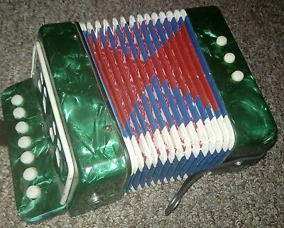 Childrens 7 button accordian.