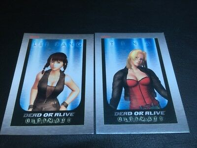 DEAD OR ALIVE ULTIMATE! Cards, Lei Fang And Tina, MINT!