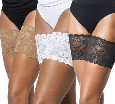 Non-Slip Lace Elastic Sock Anti-Chafing Thigh Bands Prevent Thigh Chafing Socks