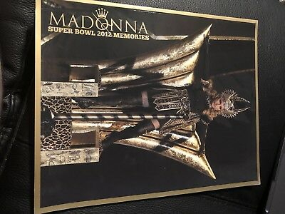 Madonna Superbowl 2012 Memories Glossy Book - 65 Pages