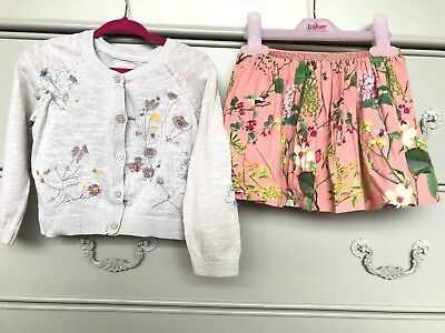 Girls Next Skirt And Cardi Set Age 12 To 18 Months