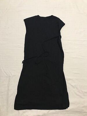 Kathmandu Merino Wool Long Top/Short Dress Black Size 10