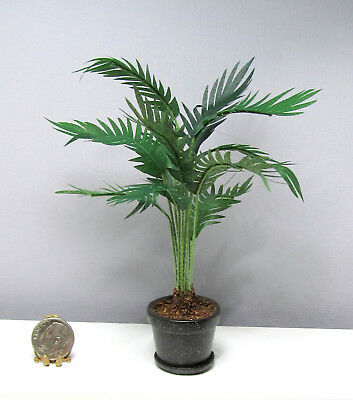 Dollhouse Miniature Handcrafted Tall Palm by Wilhelmina Miniatures