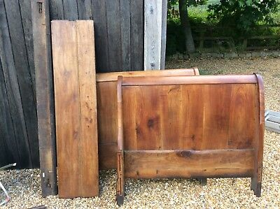 French antique Fruit wood provincial day bed