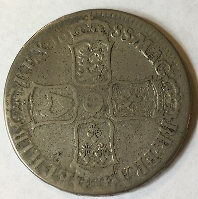 England, Crown (James II), 1688, VG/F