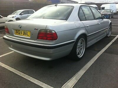 bmw E38 728i GENUINE  M Sport Leather gray roof lining M parallel forged alloys