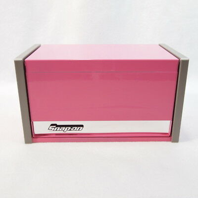 Snap On Pink Micro Top Chest Tool Or Craft Storage Box Organizer 4 5