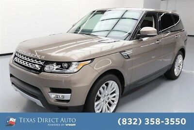 Land Rover Range Rover Sport HSE Texas Direct Auto 2015 HSE Used 3L V6 24V Automatic 4WD SUV Premium