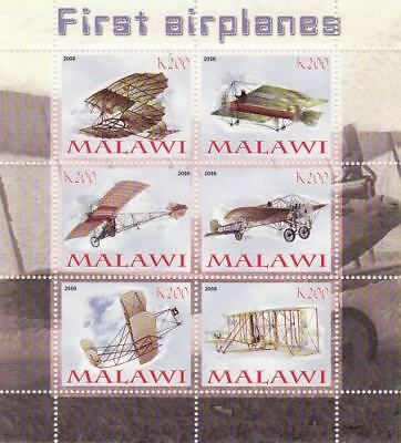 First Airplanes - Sheet of 6 - SV0275