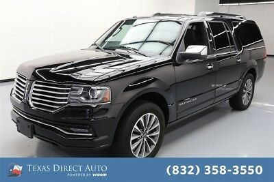 Lincoln Navigator Select Texas Direct Auto 2017 Select Used Turbo 3.5L V6 24V Automatic RWD SUV Premium