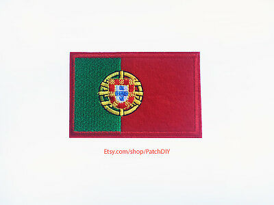 Patch Embroidered Printed Voyage Souvenir Backpack Flag Portugal Portuguese