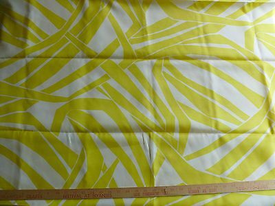 100% Silk Twill Sarmi In Yellow Vintage Design Box 17-10