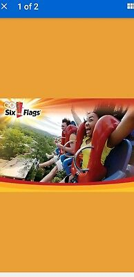 DISCOUNTED SIX FLAGS Tickets Great Adventure & Safari NJ