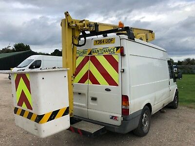 Ford Transit Cherry Picker 2001. Versalift ET36 access platform