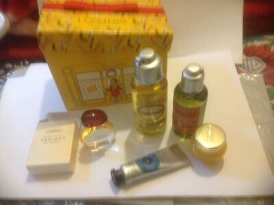 L'OCCITANE SET/HOLIDAYS/BIRTHDAY/5-ITEMS/Boxed/Festival/Gift/Party/Travel/Cheap.