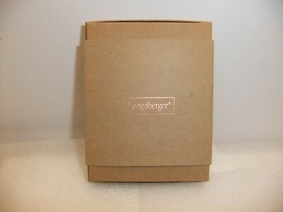 Longaberger Zippered Leather Credit Card Case NIB