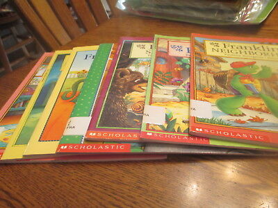 Lot of 7 Franklin the Turtle Children's Books Paulette Bourgeois