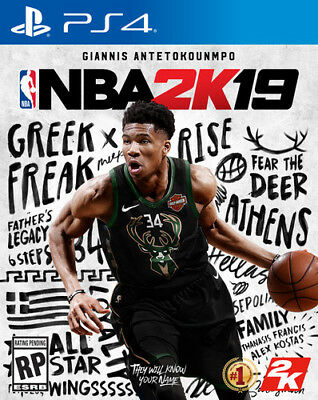 NBA 2K19 for PlayStation 4 [New PS4] PS 4