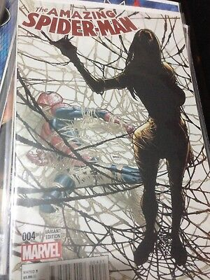 Amazing Spider-Man #4 - Ramos Variant Super Rare Must Have!!!marvel