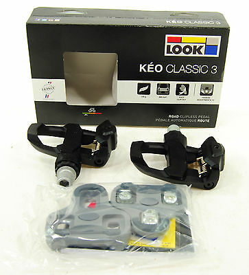 0e75f93c8 New 2017 LOOK KEO Blade Black 12Nm Pedals w Cleats and Hardware.