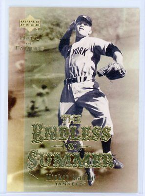 "2001 Upper Deck Mickey Mantle ES1 ""The Endless Summer"" Insert Card"