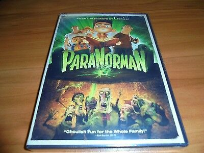 ParaNorman (DVD, Widescreen 2012) Animated NEW  Para Norman