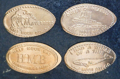 Princeton,Ca. - Half Moon Bay Sportfishing & Tackle - Four Copper Pennies