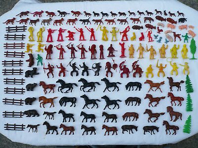 138 Figuren Heinerle Manurba Collonil Cowboys Indianer Karl May Winnetou Tiere