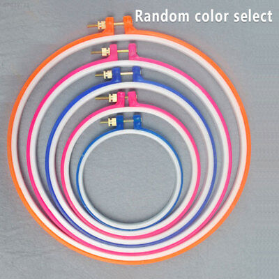 49E3 Home Cross Stitch/Embroidery Art Hoop Ring Fabric Craft Convenient Tool