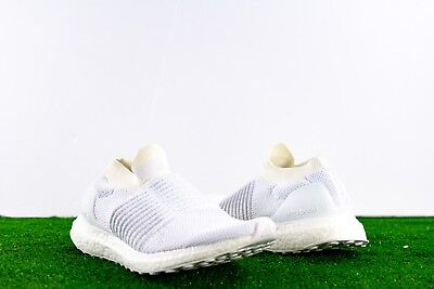 f87e136044cf9 Adidas Ultra Boost Laceless Mens BB6146 Non-Dyed Primeknit Shoes Size 7  Sneakers
