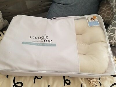 NEW Snuggle Me Organic Original CoSleeping Baby Bed, Infant Lounger, Portable