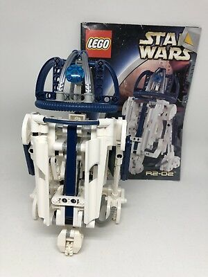 Lego Star Wars Technic R2 D2 8009 100 Complete Winstructions 2002