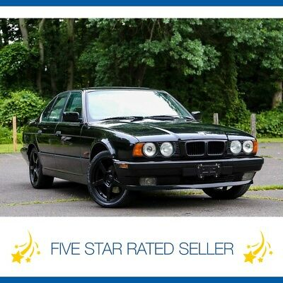 BMW 5-Series E34 Manual Sport Package 1 Owner California CARFAX! 1995 BMW 540i E34 6SP Manual Sport pack 1 Owner California CARFAX Video