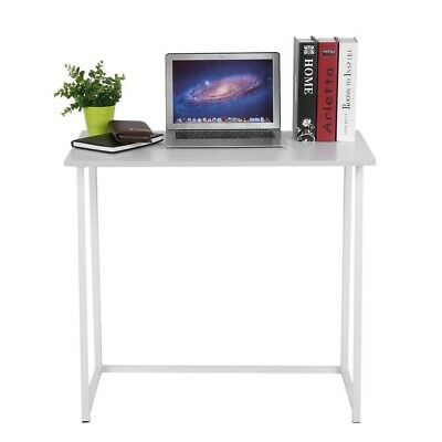 Tremendous Narrow Desk Small White Computer Table Minimal Office Furniture Folding Table Download Free Architecture Designs Salvmadebymaigaardcom