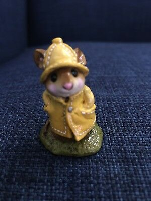 Wee Forest Folk Yellow Raincoat