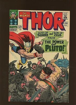 Thor 128 VF/NM 9.0 * 1 Book Lot * Two Stories by Stan Lee & Jack Kirby!
