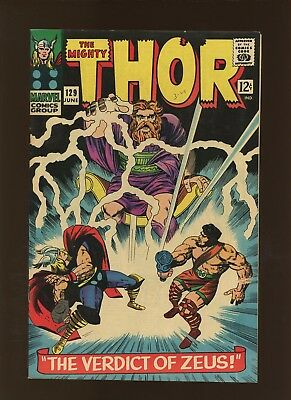 Thor 129 NM 9.2 * 1 Book Lot * 1st Ares & many More Gods! Stan Lee & Jack Kirby!