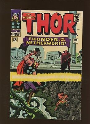 Thor 130 NM 9.4 * 1 Book Lot * Two Stories by Stan Lee & Jack Kirby!