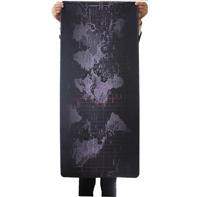 Mat Size Old Large Extended 90cm*40cm World Pad Game Pc Mouse Desk Map Gaming